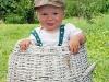 dítě v koši