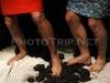 nohy na uhlí