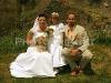 nevěsta, družička, ženich