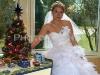 nevěsta a vánoční stromeček